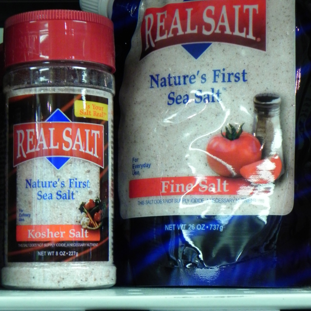Whole, Unrefined Cooking Salts